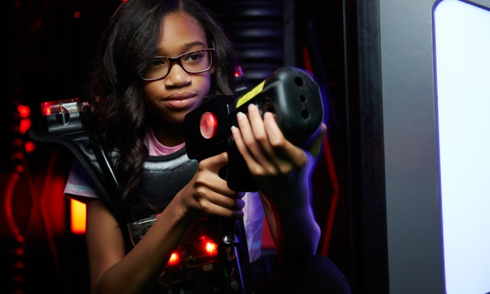 Laser Voyage Cafe - Suwanee-Duluth: Laser-Tag and Arcade Package for Two, Four, or Six at Laser Voyage Cafe (Up to 61% Off)