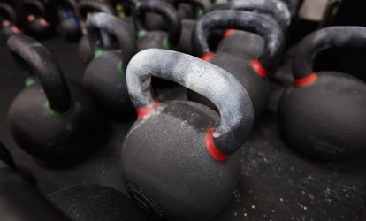 image for 5 or 10 Kettlebell Classes at Synergy Kettlebell Training (83% Off)
