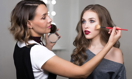 One Makeup and Mimosa's Class with Optional Makeup Brush Set at Posh Extension Bar (Up to 68% Off)