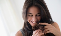 Cut, Finish and Half-Head Highlights with Optional Moroccanoil Treatment at Hays Hair Co (Up to 63% Off)
