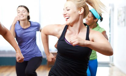 Five or Ten Zumba or Aerobic Classes or Up to Three-Month Gym Membership at Rock Gym for Ladies (Up to 61% Off)
