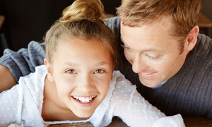 Harmony Dentistry: Dental Exam with Cleaning and X-rays, In-Office Teeth-Whitening Treatment, or Both (Up to 96% Off)
