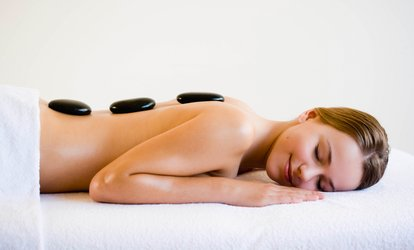 75-Minute Back and Feet <strong>Massage</strong> or 60-Minute <strong>Massage</strong> with Lavender Oil and <strong>Hot Stones</strong> at Spa Mai (Up to 57% Off)