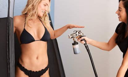 One or Two Custom Airbrush Spray Tans at Splash Tan (Up to 51% Off)