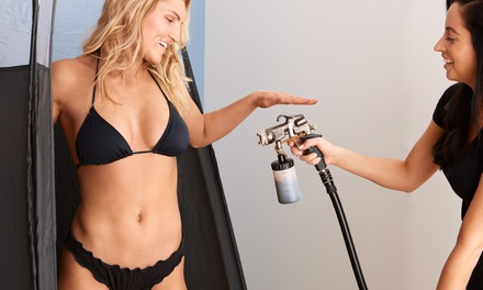 One or Three Standard Spray Tanning Sessions at Allure Skin Spray Tans (Up to 55% Off)