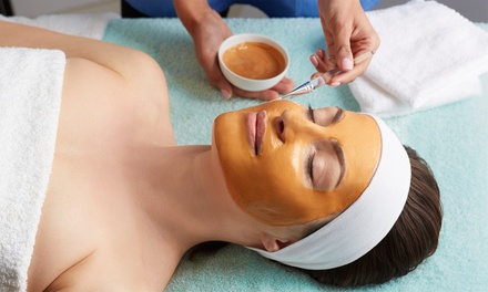 One Signature Facials or Half Facial Half Peel Treatment at Chuck Georgie's Skincare (Up to 87% Off)