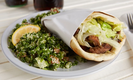 Mediterranean Cuisine, Curbside Pickup, Takeout, or Dine-In at Fadi's Lebanese Grill (Up to 30% Off). 2 Options.