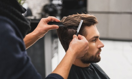 Men's Shampoo, Cut and Blow-Dry: One ($19) or Two Visits ($35) at Erindale Hair Centre (Up to $60 Value)