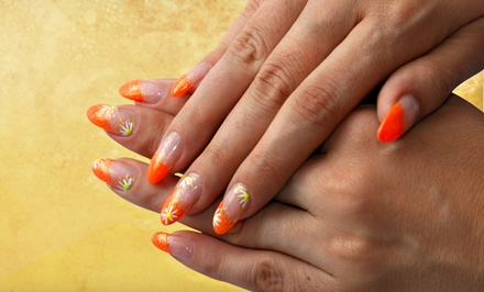 Nailcare at Serenity Garden Salon and Day Spa (Up to 52% Off). Three Options Available.