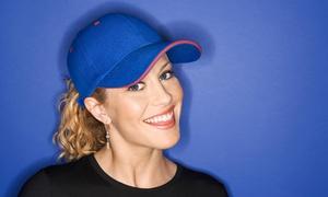 Cosmobrand S.a.s.: Ricami multicolore su cappellino, t-shirt, polo oppure felpa con Cosmobrand S.a.s. (sconto fino a 53%)