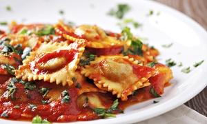 Bella Luna Downtown: Appetizers and Entrees at Bella Luna Downtown (Up to 59% Off)