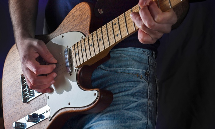 Tri Tone Music  - Mount Pleasant: $47 for Four Private Guitar Lessons with Shane at Tri Tone Music ($120 Value)