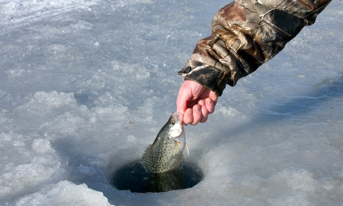 Red Lake Outdoors - Red Lake: Half- or Full-Day Ice-Fishing Trip for Up to Three People from Red Lake Outdoors (Up to 53% Off)