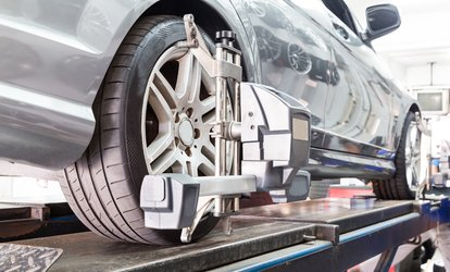image for Four-Wheel Laser Alignment at Superb Motors (86% Off)