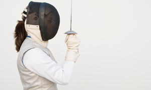 The Swing Academy: One-Month Unlimited Beginners' Fencing Classes for One ($39) or Two People ($75) at The Swing Academy (Up to $312 Value)