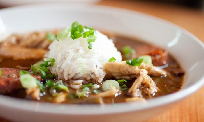 Jazzy Fat's Cajun Classics - Valley View Mall Food Court: $12 for $20 Worth of Cajun Cuisine at Jazzy Fat's Cajun Classics