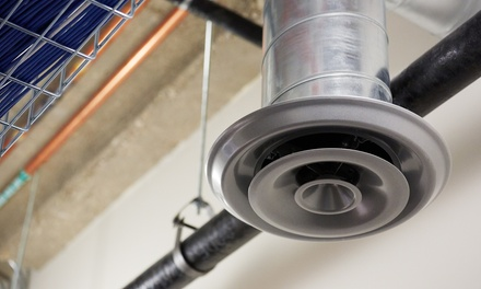 Air Duct, Dryer Vent, Chimney, or Air Duct and Dryer Cleaning Package from Mighty Ducts (Up to 55% Off)