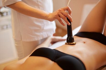 Sedute di cavitazione e massaggio