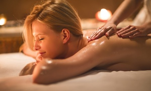 Sabrina Douce: Modelage drainant relaxant aux huiles essentielles bio d'1h à 29,90 € chez Sabrina Douce
