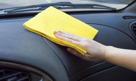Lavaggio e sanificazione auto