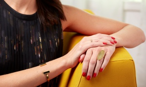 Miami Sun: Shellac Manicure or Callus Peel Pedicure with Nail Polish at Miami Sun