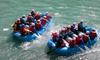 Indomita Valtellina River - Castione Andevenno: Soft rafting in battello sul fiume Adda per 2 o 4 persone con Indomita Valtellina River (sconto fino a 35%)