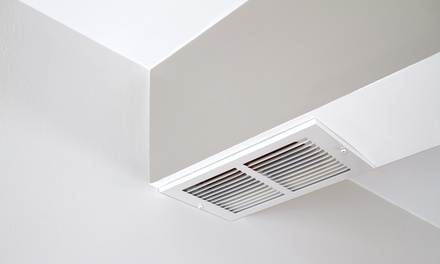$35 for Air Duct and Dryer Vent Cleaning with Furnace Inspection from Golden Air Quality ($204 Value)
