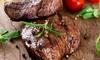 Menu di carne con vino a Km 0