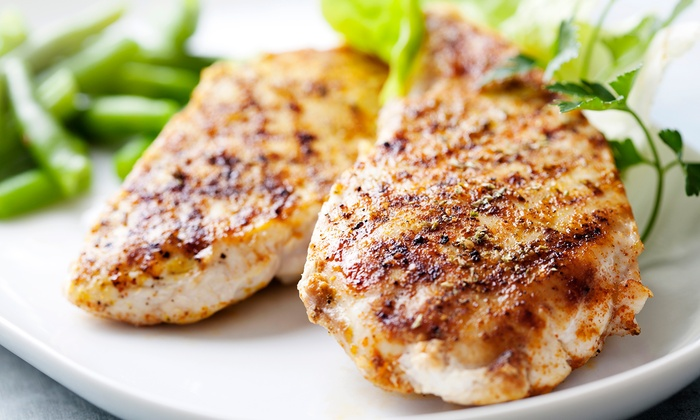 Clancy's Meat Co. - Multiple Locations: Cook-At-Home Marinated Chicken-Breast Dinner for Two or Four from Clancy's Meat Co. (Up to 37% Off).