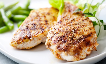 Cook-At-Home Marinated Chicken-Breast Dinner for Two or Four from Clancy's Meat Co. (Up to 37% Off).