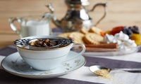 Afternoon Tea for Two or Four with Optional Glass of Bubbly at Bentley Hotel Restaurant
