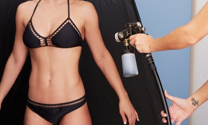 Up to 50% Off Spray Tans at Panacea Hair Salon and Day Spa