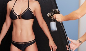 The Tanning Bar: One or Three Spray Tans at The Tanning Bar (Up to 52% Off)