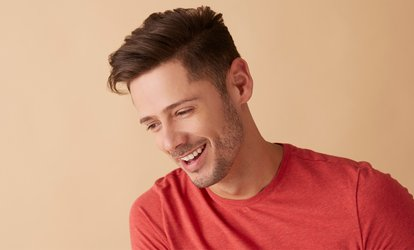 Men's Haircut Packages at Harvard Beauty Spa (Up to 56% Off). Two Options Available.
