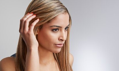 image for Keratin Treatment with Optional Haircut By Leeah at Yours Truly Salon and Spa  (Up to 64% Off)