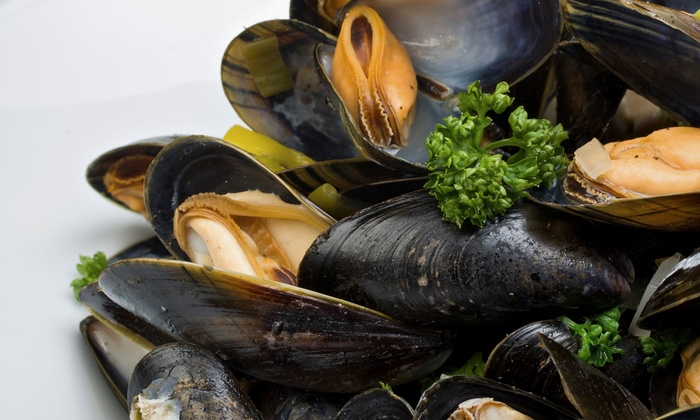 Thursday Seafood Buffet With Soft Drinks Or House Beverages For Up To Four At 365 Restaurant 39 Off