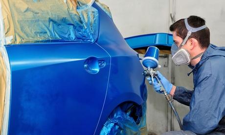Servicio de reparación de chapa y pintura de coche por 49,95 € en Jumasol Oferta en Groupon