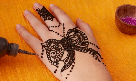 Henna Design for One or Two Hands at Arch Threading Salon (Up to 58% Off)