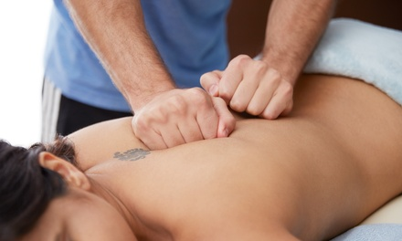 One-Hour Sports or Deep Tissue Massage at Peak Performance Therapy (62% Off)