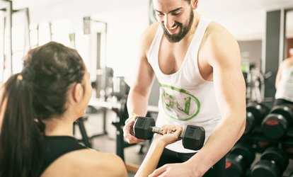 $25 for Four Personal Training Sessions at Flames Fitness, 3 Locations (Up to $210 Value)