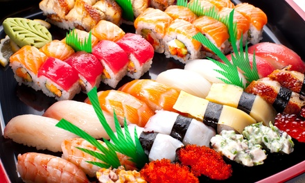 Sushi Platter: 40-Piece ($25) or 52-Piece ($29) at Sushi Lian (Up to $50 Value)
