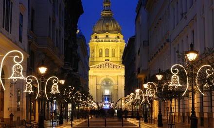 ✈ Budapest Christmas Markets: 24 Nights at a Choice of 4* Hotels with Flights*