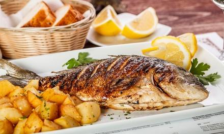 Italienisches 4-Gänge-Gourmet-Menü mit Wilddorade oder Kalbsrückenfilet im Ristorante Pino (bis zu 19% sparen*)