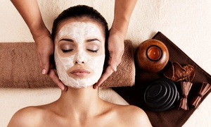 New Glamour Day Spa: Swedish Massage, Signature Facial, or Both at New Glamour Day Spa (Up to 57% Off)
