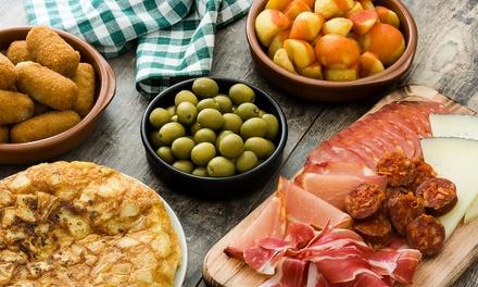 Tapas and MediterraneanMeals at El Pulpo Restaurant & Tapas Bar - Southington (Up tp 40% Off).