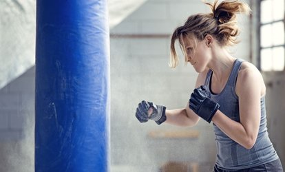 Up to 67% Off Boxing Classes for Women at Get Hooked Fitness