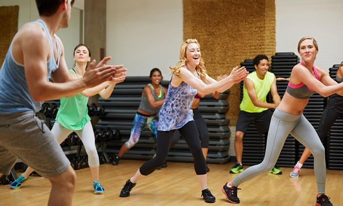 Queen B Productions - Multiple Locations: Five Dance-Fitness Classes or Six Weeks of Unlimited Dance Fitness at Queen B Productions (Up to 69% Off)
