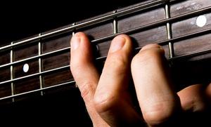 Gottschalk Music Center: One or Three Private Guitar or Bass Lessons at Gottschalk Music Center (Up to 67% Off)