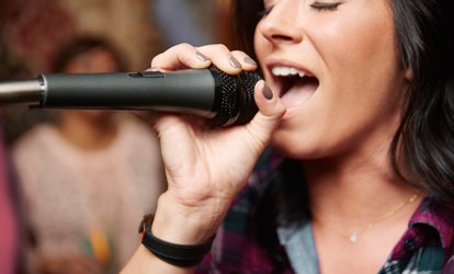 image for Three Hours of Karaoke at Pure Karaoke (Up to 59% Off). Ten Options Available.