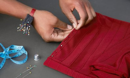 Up to £100 Toward Clothing Alterations at Stitching Time (50% off)